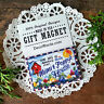 """DecoWords 2""""x3"""" Fridge Magnet MiMi  Poppy WE HAVE Every RELATIVE NAME Gift USA"""