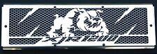 "cache / Grille de radiateur inox poli 1200 XJR ""Bulldog"" + grillage alu"