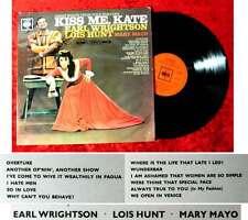 LP Kiss Me Kate w/ Earl Wrightson Lois Hunt Mary Mayo (CBS SBPG 62094) UK 1962