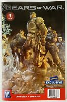 Gears of War Comic #1 1st Printing Dec 08 Blockbuster Exclusive