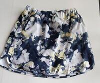 Slazenger Womens Gray/yellow Golf Skirt Athletic Skort Size-Small 72-8
