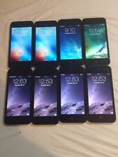 LOT OF 8 TESTED BLACK & SLATE GSM UNLOCKED AT&T APPLE iPhone 5 16GB PHONES
