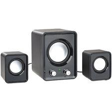 auvisio 2.1-Lautsprecher-System mit Subwoofer und USB-Stromversorgung, 20 Watt