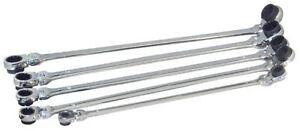 Platinum 5pc XL Double Box METRIC Reversible Ratcheting Spline Wrenches #99650