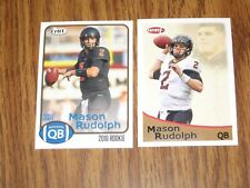 2018 SAGE HIT MASON RUDOLPH 2 ROOKIE CARD LOT #89 AND #109 PITTSBURGH STEELERS