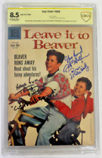 CBCS Graded 8.5 Leave it to Beaver, Four Color # 999, 1959, Signed DOW, MATHERS