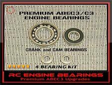 OS 91 FS SURPASS FS91 SURPASS II RC Engine BEARINGS & CAM BEARINGS PREMIUM ABEC3