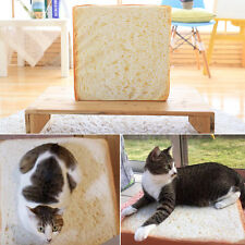 Toast Bread Shape Pet Mat Bed Sponge Cushion Pad For Dog Cat Kennel Cozy Soft