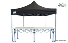 MCD Pro Tent™ 3m Metre Pop Up Trade Counter Heavy Duty Aluminium Gazebo Table
