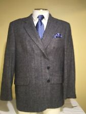 MENS Charles Klein Gray 2 Button Single Vent Sport Coat SZ 48R