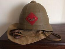 More details for foreign service pith helmet. durham light infantry , boer war 1899-1902.
