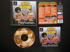 READY 2 RUMBLE BOXING : JEU Sony PLAYSTATION PS1 / PS2 (complet, envoi suivi)