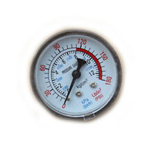 0-180PSI Air Compressor Pneumatic Hydraulic Fluid Pressure Gauge 0-12Bar EB