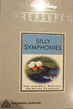 DISNEY TREASURES: SILLY SYMPHONIES OOP RARE DELETED OOP DVD CARTOON ANIMATION
