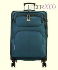 Titan Koffer Nonstop 4 Rollen Trolley L 79 cm Reise Petrol Grün Blau