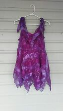 fairy/sprite/princess backless costume;womans size M/L/XL purples/pinks,NICE!
