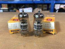 2 NOS Philips SQ Gold Pin 6922 E188CC 7308 6DJ8 Vacuum Tubes Tested Guaranteed!