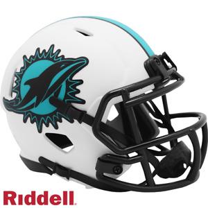 Miami Dolphins Lunar Eclipse Riddell Speed Mini Helmet - New in Riddell Box