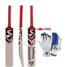 Sg Max Cover Kashmir Willow Cricket Bat Size Sh+Free Ecolite Batting Gloves