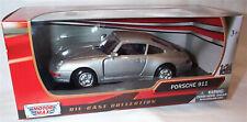 Porsche 911 Silver New in box 1-24 scale model Motor Max