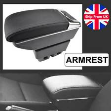 Car Dual Layer Arm Rest Centre Console Storage Box Armrest Ford Fiesta 2011-2017