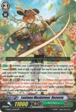 1x Cardfight!! Vanguard Lantana Musketeer, Rozeeta - G-EB02/020EN - RR Near Mint