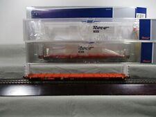 Roco H0 76141 Güterwagen Rungenwagen Rnoos-uz Set 2-teilig der ÖBB in OVP