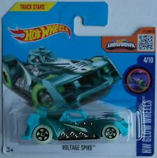 HOT Wheels-Voltage Spike Verde/Turchese Nuovo/Scatola Originale