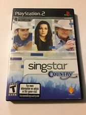 SingStar: Country (Sony PlayStation 2, 2008)