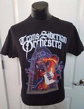 Trans Siberian Orchestra Winter Tour 2012 Black T Shirt Large Dragon Guitar Fire