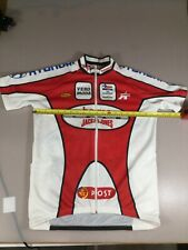 Mens Size Large L Euro Cycling Jersey (6826-3)