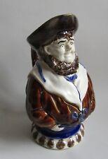 Nimy-les-Mons. Mouzin Lecat. Pichet en barbotine modèle marin pêcheur, XXe