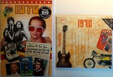 41st BIRTHDAY or ANNIVERSARY GIFT - 1976 DVD , Compilation CD and Year Cards