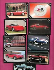 9 X 1991 CORVETTE  VETT SET NRMT-MT  CARD  (INV# C3868)