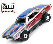 Autoworld ThunderJet R19 1969 Dodge Charger Dick Landy Tjet HO Slot Car AFX AW