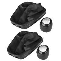 Car Manual Shift Knob Knob Shift Lever Guard For Saab 9-3 2003-2012 55566206 553