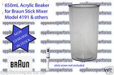 Braun 4191 Stick Mixer Beaker 7050132 67050132 BR67050132 NEW GENUINE IN STOCK