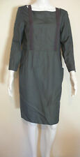 Cacharel Kleid Dress 40 36 Grau Titan Designer CHA 0420 8426 0509 NEU #3