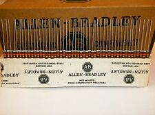 Allen-Bradley Carbon Comp  Resistors 91k 1/2 watt 5% 50pcs