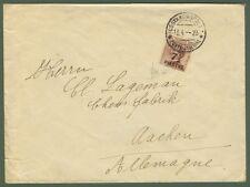 COSTANTINOPOLI. Lettera del 18.4.1923 da Costantinopoli per Aachen (Germania).