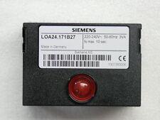 Steuergerät LOA 24 .171 B27 Weishaupt Buderus Siemens Feuerungsmanager HANSA