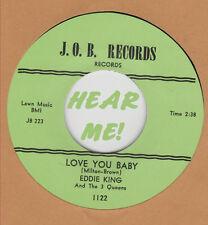 R&B REPRO: EDDIE KING - Shakin' Inside/Love You Baby J.O.B.