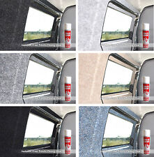 10sqm | 5m x 2m | Camper van lining carpet kit super stretch includes adhesive