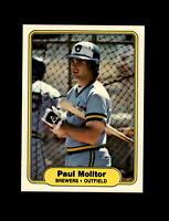 1982 Fleer Baseball #148 Paul Molitor (Brewers) NM-MT