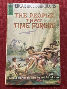 The People That Time Forgot By Edgar Rice Burroughs First Ace Edition F-220