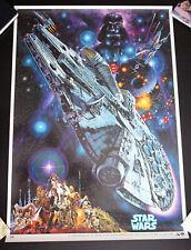 Original* Star Wars 1982 Japanese dubbed version poster Noriyoshi Ohrai 1 sheet