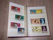 Briefmarkenalbum Sätze Sport, Botanik, Tiere u.s.w. verschiedene Länder !!!!