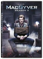 Macgyver: Season 3 Dvd Lucas Till, George Eads Discs: 5 2020 Free Shipping New