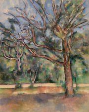 Trees and Road  by Paul Cézanne 60cm x 48cm Art Paper Print