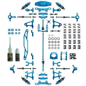 Yeah Racing Tamiya TT-02 Blue Aluminum Conversion Kit CK-TT02BU